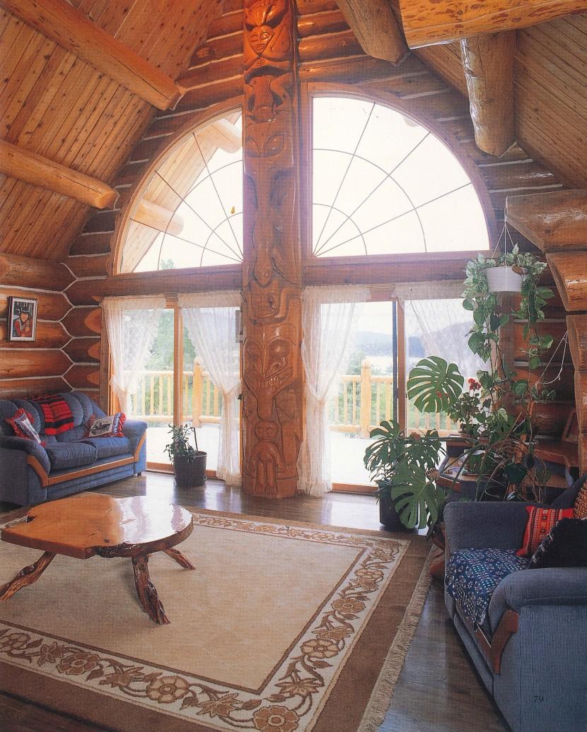 海外ログハウスビルダーの自宅が見てみたい!