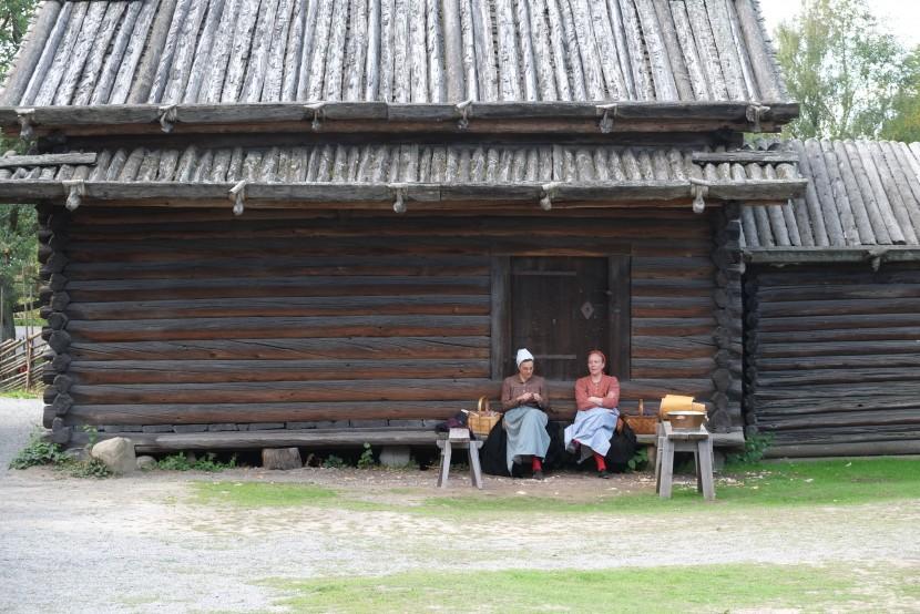 スウェーデンの野外博物館「スカンセン」に見るログハウスの耐久性①